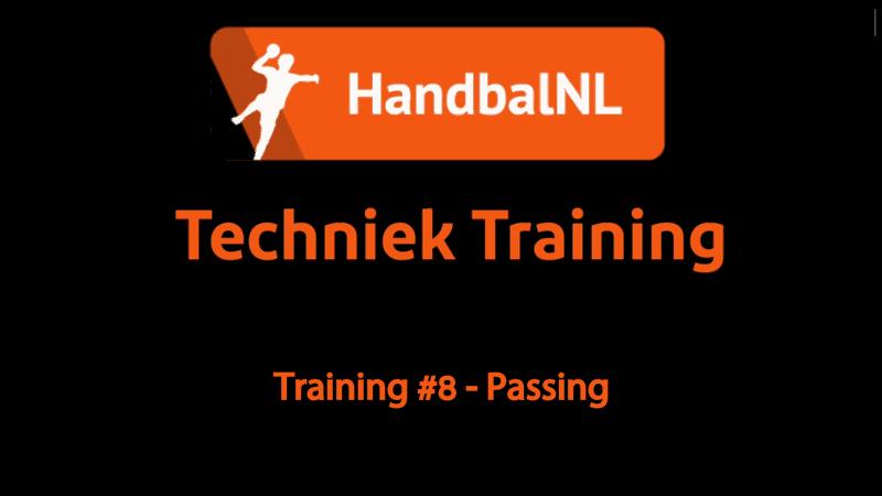 Training #8 – Passing