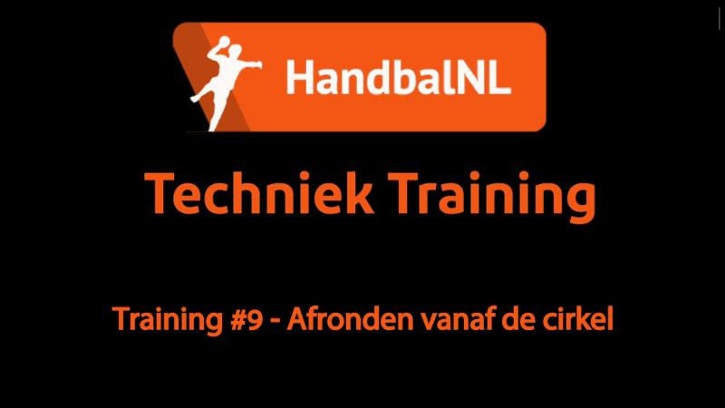 Training #9 – Afronden vanaf de cirkel